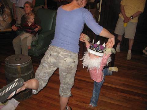 The Queen Dances