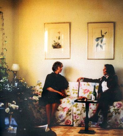 Katherine and Delphine