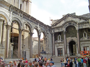 Diocletian Courtyard in Split