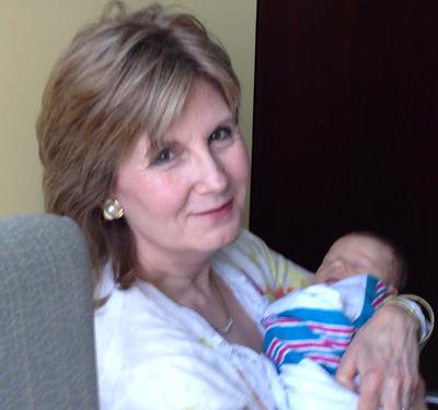 Grandmother Karen with  E.L.